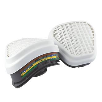 GVS Elipse SPR492 Respiratory Filters ABEK1P3 2 Pack