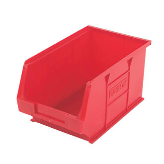 Semi-Open-Fronted Storage Bins 10 Pack