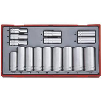 """Teng Tools TT3816 3/8"""" Drive Socket Set  16 Pcs"""