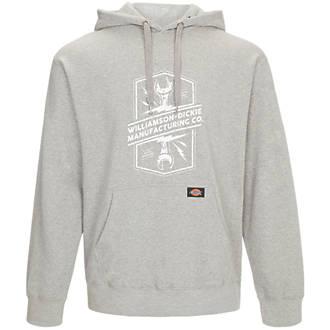 """Dickies Colrain Hooded Sweatshirt Grey Medium 45"""" Chest"""