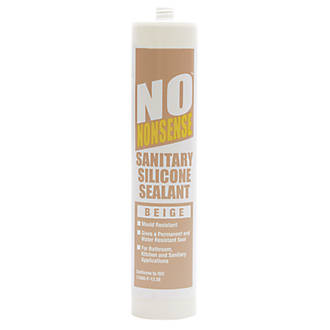 No Nonsense  Sanitary Silicone Beige 310ml