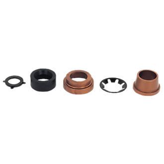 FloPlast  Copper / MDPE Adaptor Kit 22mm x 25mm