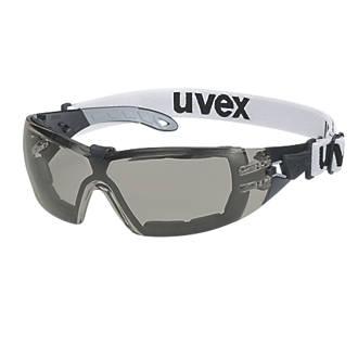 Uvex Pheos Guard Smoke Lens Safety Specs