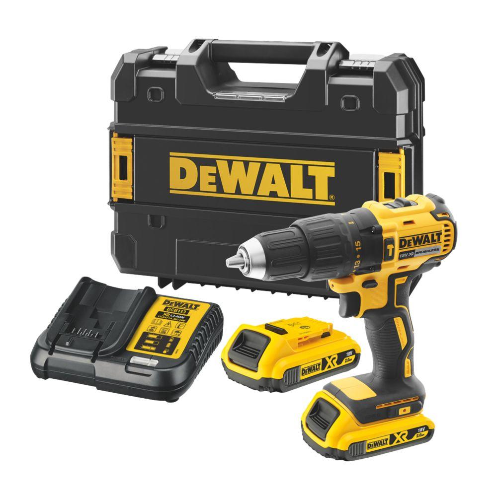 DeWalt DCD778D2T-SFGB  18V 2.0Ah Li-Ion XR Brushless Cordless Combi Drill