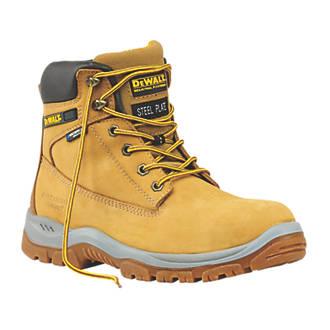 DeWalt Titanium   Safety Boots Honey Size 12