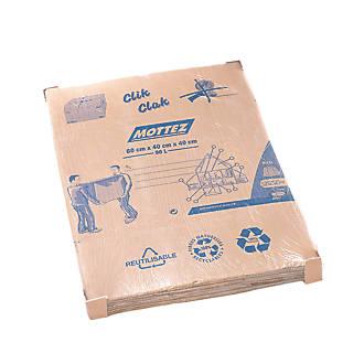Mottez Moving Boxes 96Ltr 5 Pack
