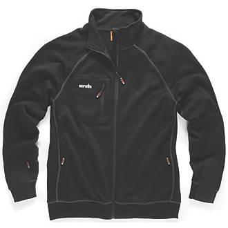 """Scruffs Delta Sweatshirt Black X Large 46"""" Chest"""