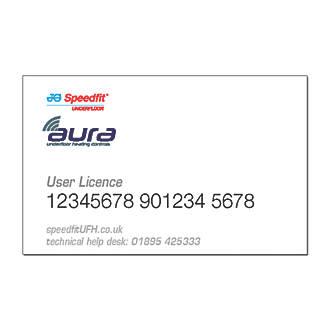 JG Speedfit Aura JGHUB1 Hub User Licence