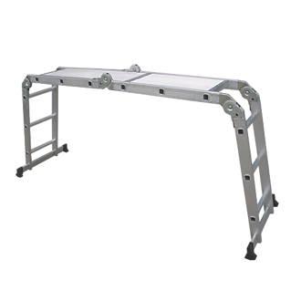 4-Section  Multipurpose Ladder with Platform  3.34m