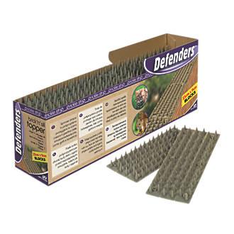 STV Pest Free Defenders Polypropylene Cats & Squirrels Brick & Sill Prickle Strip 230mm 24 Pack