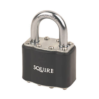 Squire  Laminated Steel  Weatherproof   Padlock 44mm