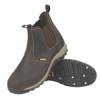 DeWalt Radial   Safety Dealer Boots Brown Size 12