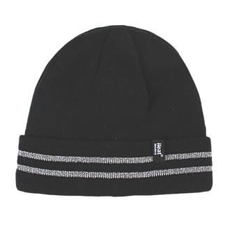 SockShop Heat Holders Thermal Hat Black