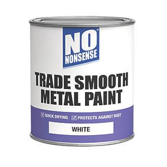 No Nonsense Quick-Dry Smooth Metal Paint White 750ml