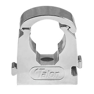 Talon 22mm Pipe Clip Chrome 10 Pack