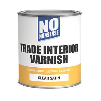 No Nonsense Quick-Dry Varnish Satin Clear 750ml