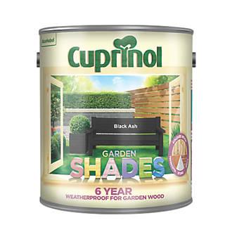 Cuprinol Garden Shades Woodstain Matt Black Ash 2.5Ltr