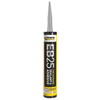 Everbuild EB25 Hybrid Sealant & Adhesive Grey 300ml