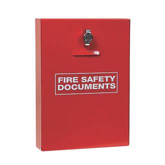 Firechief  Seal Latch Fire Document Cabinet 252 x 60 x 350mm Red