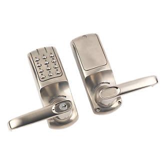 Codelocks CL5010SS Electronic Heavy Duty Push Button Lock Tubular Latch