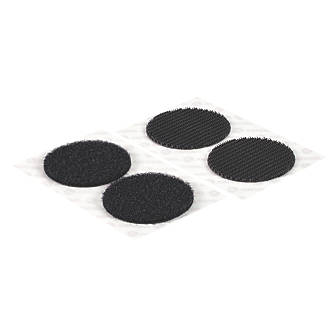 Velcro Brand  Black Heavy Duty Stick-On Coins 6 Pieces