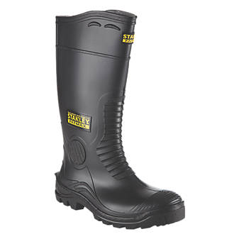 Stanley FatMax Vancouver   Safety Wellies Black Size 10