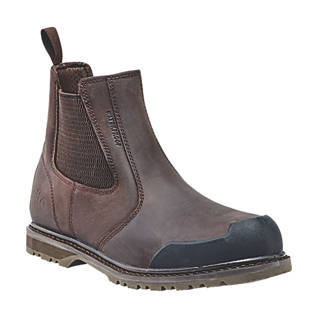 Site Prairie   Safety Dealer Boots Brown Size 10