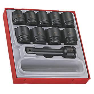 "Teng Tools TTD9416 3/4"" Drive Metric Impact Socket Set 16 Pieces"