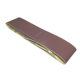 Scheppach Sanding Belts Unpunched 914 x 100mm 80 Grit 3 Pack