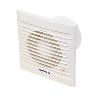 Vent-Axia 100A 14W Bathroom Extractor Fan  White 240V