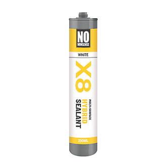 No Nonsense X8 Hybrid Sealant & Adhesive White 290ml