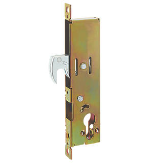 Adams Rite Antique Brass Euro Profile Hookbolt 46mm Case - 30mm Backset
