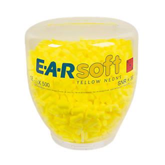3M EAR Soft Neons 36dB Ear Plug Refill Bottle 500 Pairs