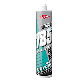 Dow 785+ Sanitary Sealant Clear 310ml