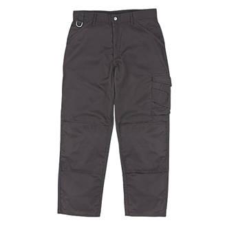 """Scruffs Worker Trousers Black 34"""" W 33"""" L"""