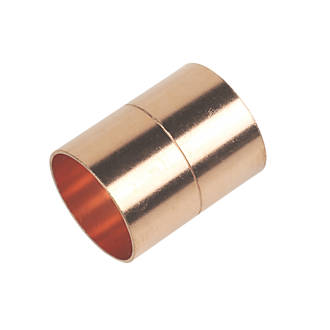 Flomasta   End Feed Equal Couplers 28mm 10 Pack