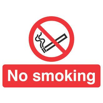 """No Smoking"" Sign 450 x 600mm"