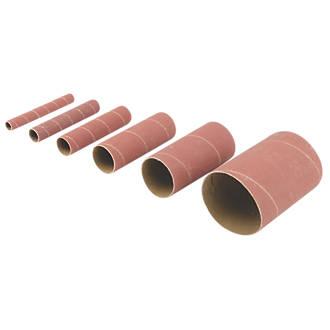 Triton Aluminium Oxide Sanding Sleeve Set 13-76mm 240 Grit 6 Pcs