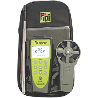 TPI DC580C3 Bluetooth Hotwire & Vane Anemometer