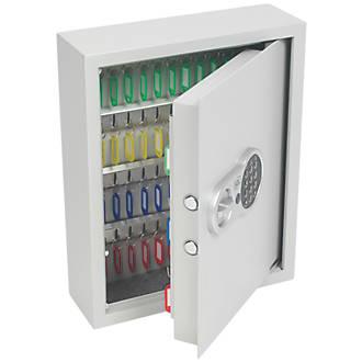 Smith & Locke  71-Hook Electronic Combination Electronic Key Cabinet Safe
