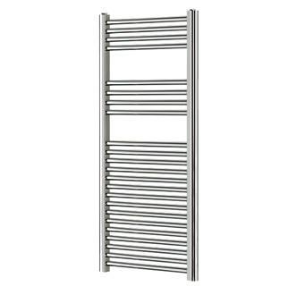 Blyss CAG01GA927 Flat Ladder Towel Radiator 1200 x 450mm Chrome 1136BTU