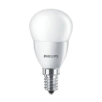 Philips  SES Mini Globe LED Light Bulb 470lm 5.5W