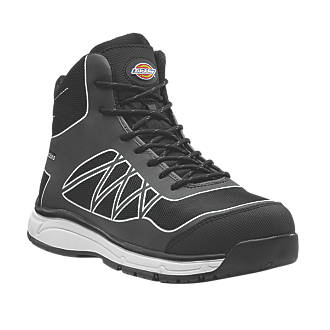 Dickies Phoenix   Safety Trainer Boots Grey / White Size 8