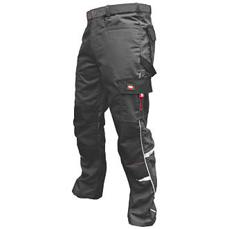 """Lee Cooper LCPNT236 Work Trousers Grey 34"""" W 31"""" L"""