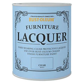 Rust-oleum Universal Furniture Lacquer Matt Clear 750ml