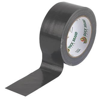 Duck Original Cloth Tape 50 Mesh Black 25m x 50mm