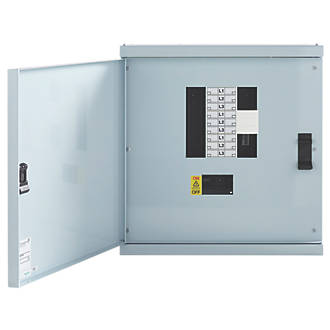 Schneider Electric KQ 6-Way Non-Metered 3-Phase Loadcentre Distribution Board
