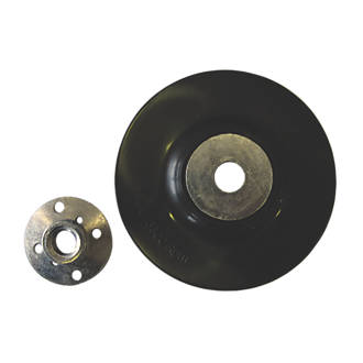 "Nylon Backing Pad 115mm M14 x 2 Hole 22mm 115mm (4½"")"