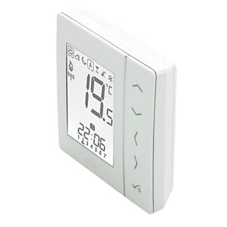 JG Speedfit JGSTATW1W 4-in-1 Wireless Thermostat Battery Powered White