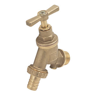 """Outside Tap with Hose Union 15mm x ½"""""""